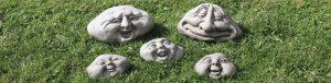 stoneware pebble people