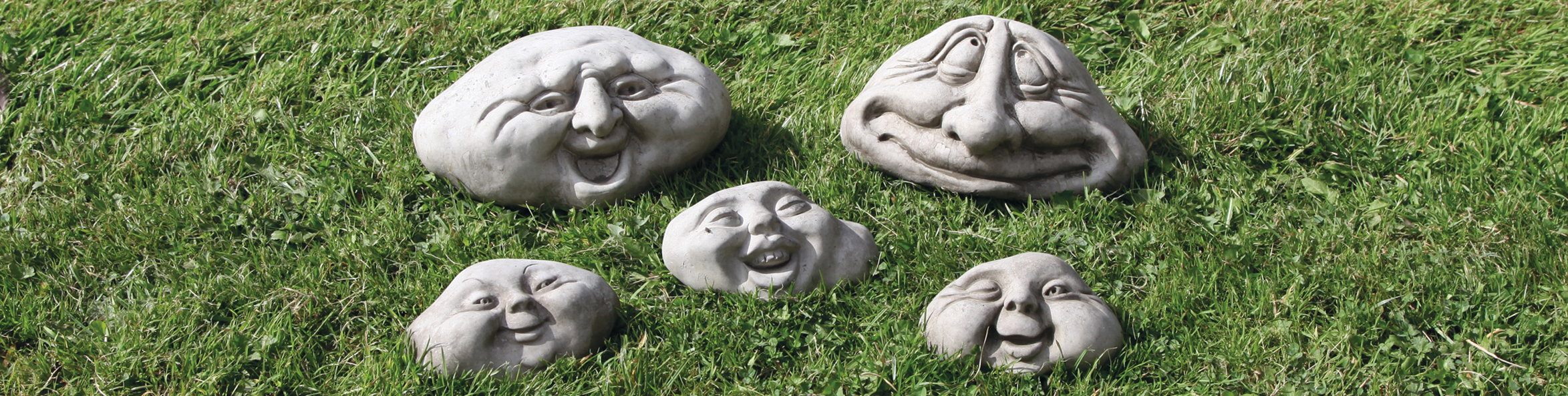 stoneware pebble people