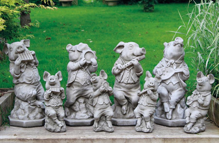 gardencraft pigs