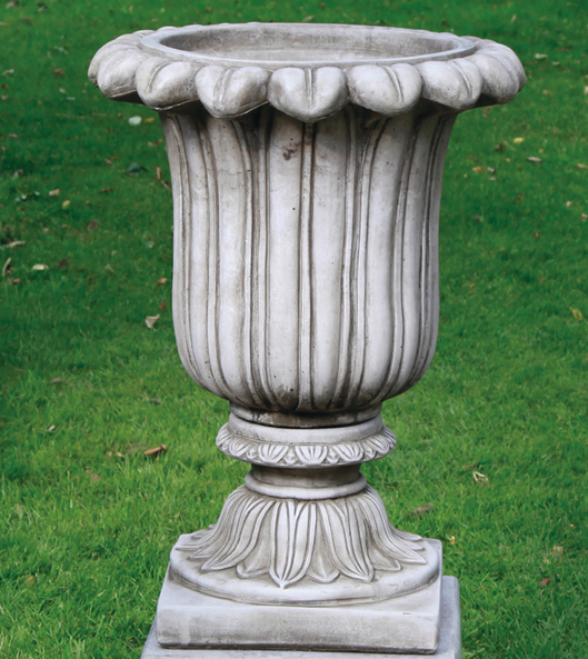 stoneware urns and pots