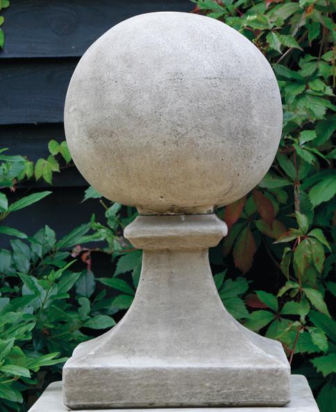 stoneware finials