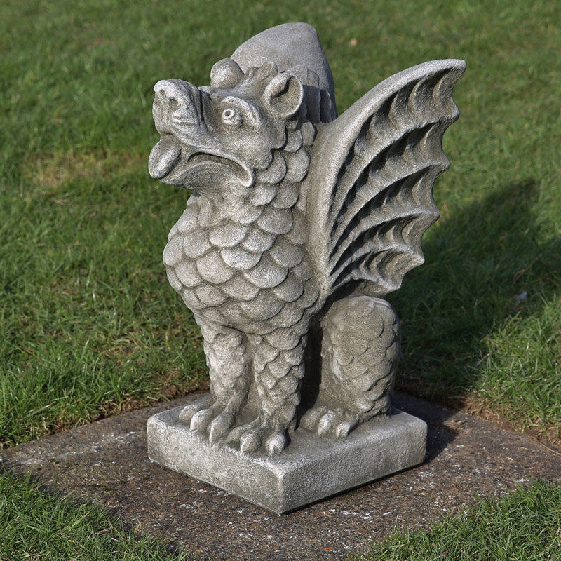 hand made stoneware mythical creatures