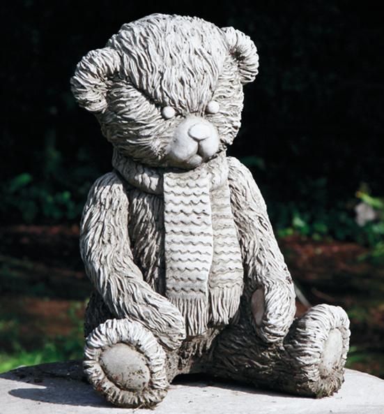 Hampshire Gardencraft stoneware teddy bears
