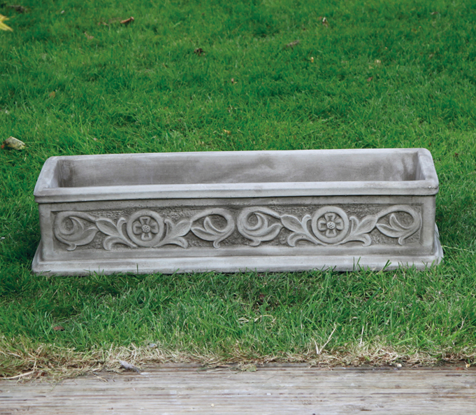stoneware planter troughs