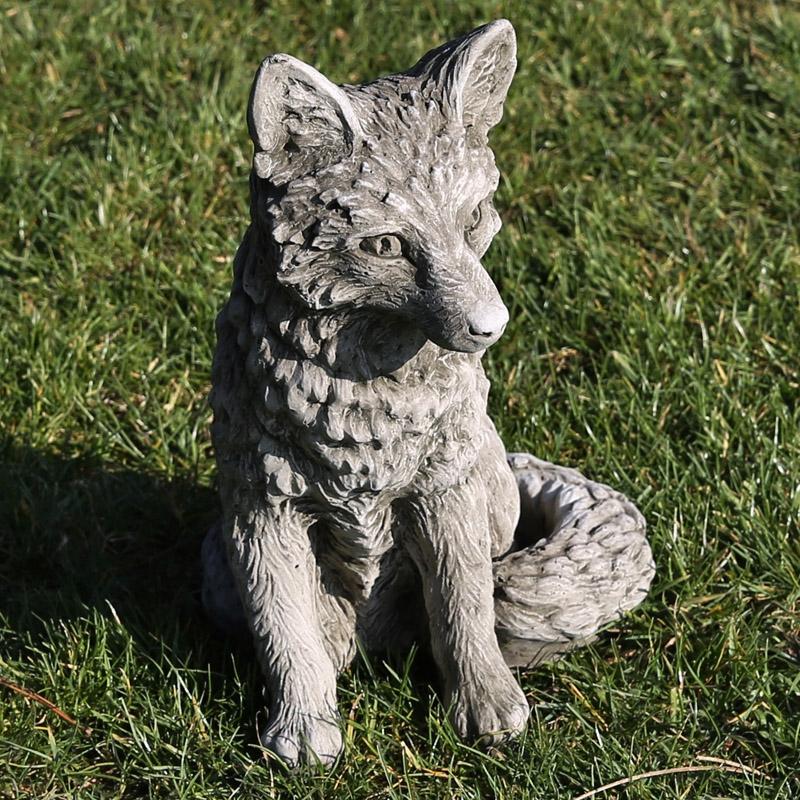 hand cast limestone wildlife figures