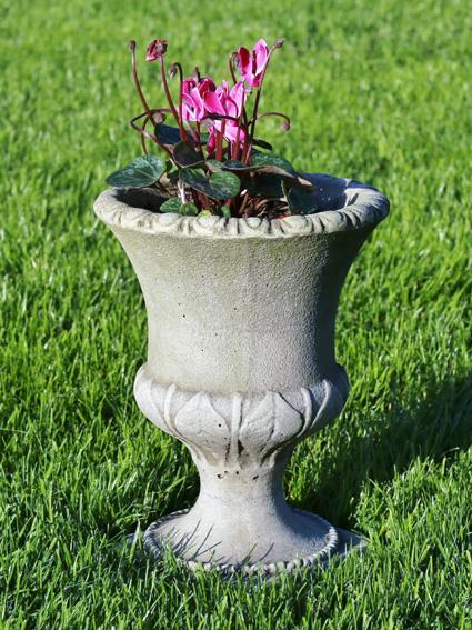 stoneware memory urn